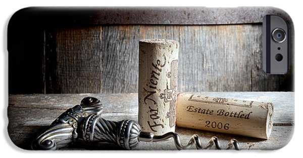 Napa Photographs iPhone Cases - Far Niente on SIlver iPhone Case by Jon Neidert