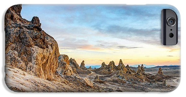 Dry Lake Photographs iPhone Cases - Far Off Land iPhone Case by Aron Kearney Fine Art Photography