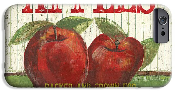Farm iPhone Cases - Farm Fresh Fruit 3 iPhone Case by Debbie DeWitt