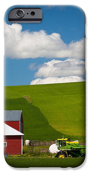 Farm Machinery iPhone Case by Inge Johnsson