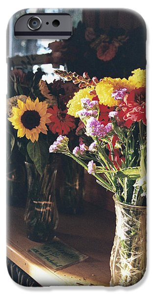 Farm Stand Photographs iPhone Cases - Farm Stand iPhone Case by Caitlyn  Grasso
