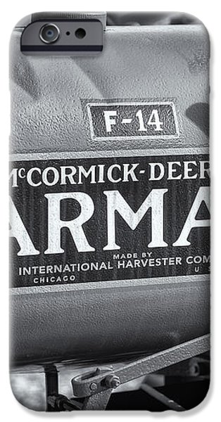 Farmall F-14 Tractor II iPhone Case by Clarence Holmes