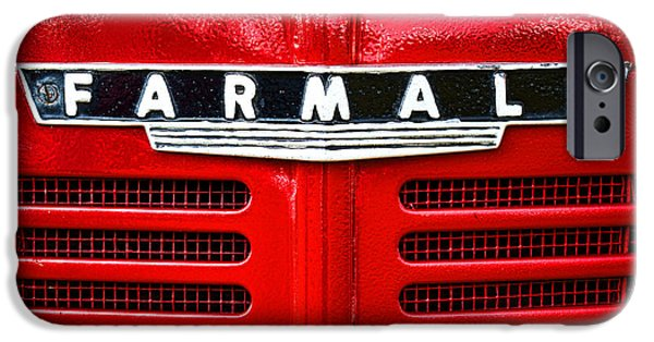 Antiques iPhone Cases - Farmall iPhone Case by Olivier Le Queinec