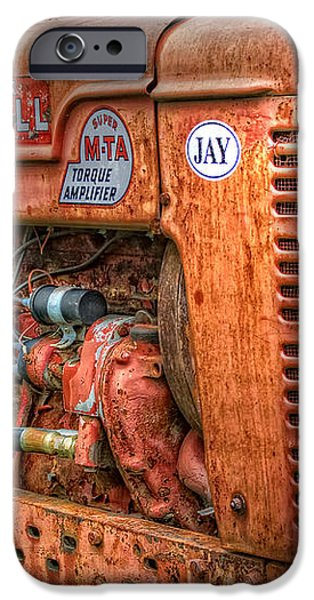 Farmall Tractor iPhone Case by Bill  Wakeley
