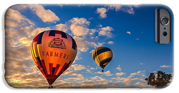 Stupendous iPhone Cases - Farmers Insurance Hot Air Ballon iPhone Case by Robert Bales