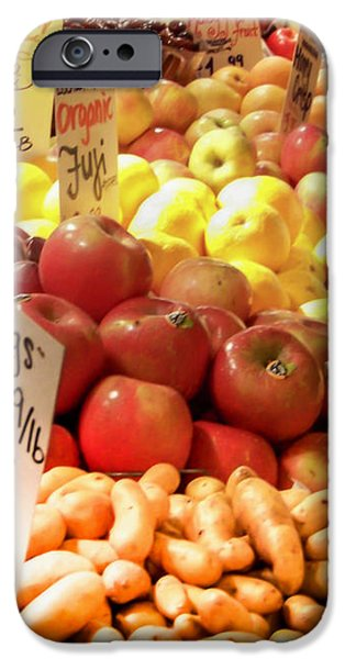 Farmers Market iPhone Case by KAREN WILES