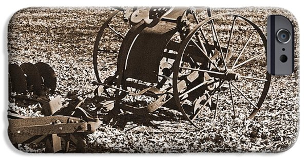 Agriculture iPhone Cases - Farming 2 iPhone Case by Sandra Clark