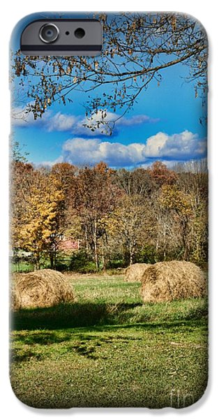 Harvest Time iPhone Cases - Farming - Its Harvest Time iPhone Case by Paul Ward