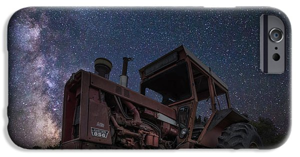 Farming Photographs iPhone Cases - Farming the Rift 5 iPhone Case by Aaron J Groen