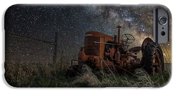 Farming Photographs iPhone Cases - Farming the Rift iPhone Case by Aaron J Groen