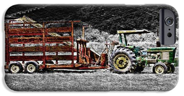 Machinery iPhone Cases - Farmland iPhone Case by Richard J Cassato