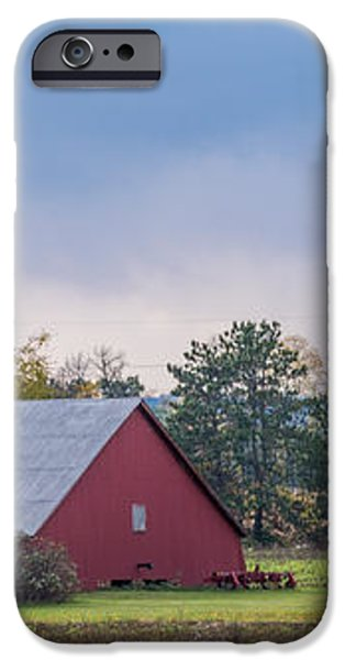 Farmstead With Fall Colors iPhone Case by Paul Freidlund