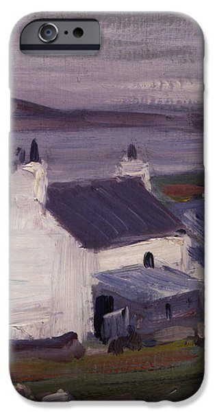 Farmsteading iPhone Case by Francis Campbell Boileau Cadell