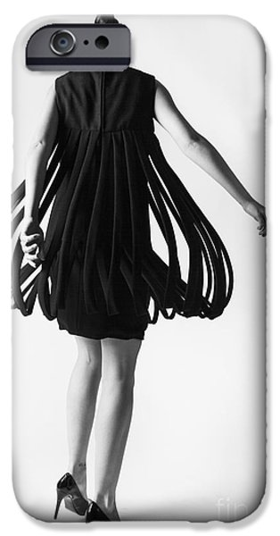 Slim iPhone Cases - Pierre Cardin Car Wash Dress iPhone Case by Diane Diederich