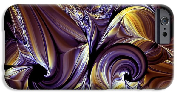 Asymmetrical iPhone Cases - Fashion Statement Abstract iPhone Case by Georgiana Romanovna