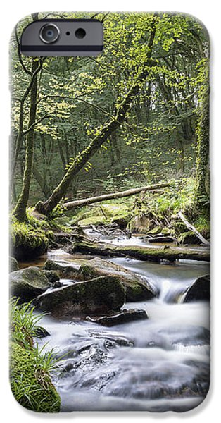 Fast Flowing River iPhone Case by Helen Hotson