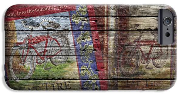 Fat Tire iPhone Cases - Fat Tire iPhone Case by Joe Hamilton