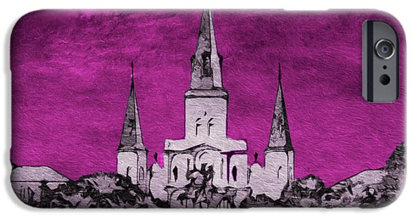 Religious iPhone Cases - Fat Tuesday Eve iPhone Case by Kathy Bassett