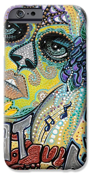 Mardi Gras Paintings iPhone Cases - Fat Tuesday iPhone Case by Laura Barbosa