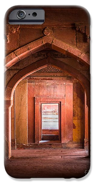 Opening iPhone Cases - Fatehpur Sikri Entrance iPhone Case by Inge Johnsson