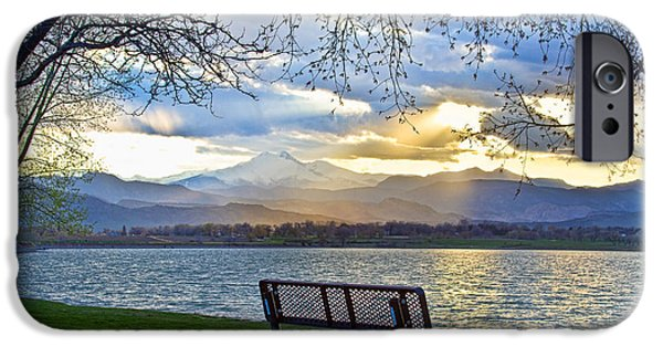 Epic iPhone Cases - Favorite Bench and Lake View iPhone Case by James BO  Insogna