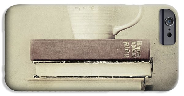 Book iPhone Cases - Favorite Pastimes  iPhone Case by Violet Gray