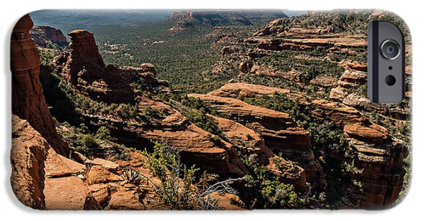 Cathedral Rock iPhone Cases - Fay canyon 06-044 iPhone Case by Scott McAllister