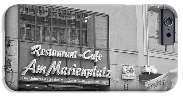 Marienplatz iPhone Cases - Feast iPhone Case by Monica Fitzgerald