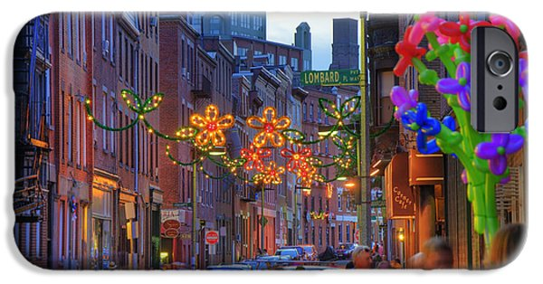 City. Boston iPhone Cases - Feast of Saint Anthony - Boston iPhone Case by Joann Vitali