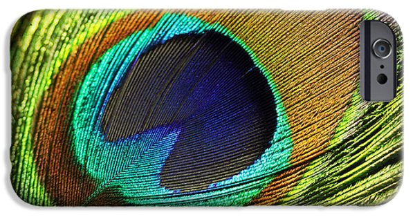 Fed iPhone Cases - Feather iPhone Case by Mark Ashkenazi
