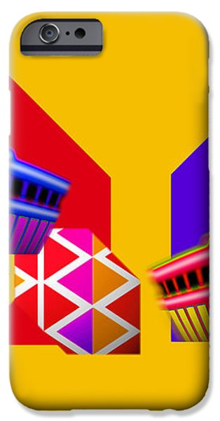 Federal Bank Reserve iPhone Case by Charles Stuart