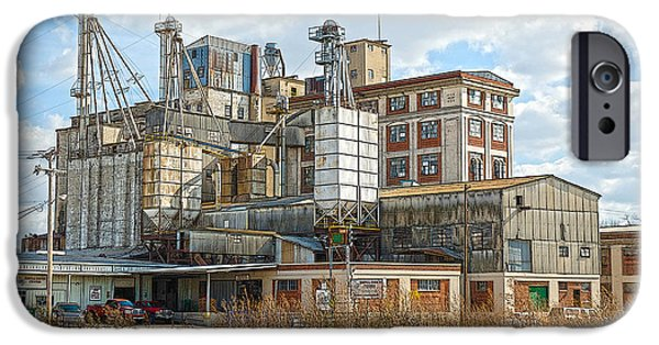 Feed Mill Photographs iPhone Cases - Feed Mill HDR iPhone Case by Charles Beeler