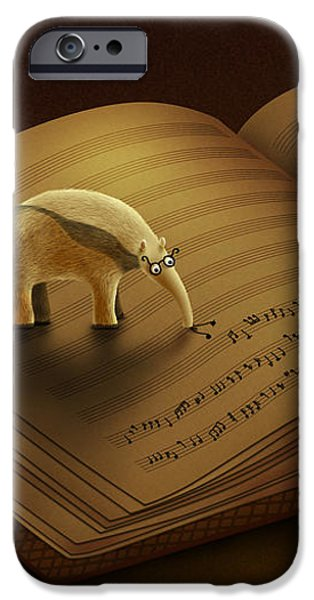 Feeding on the Music iPhone Case by Gianfranco Weiss