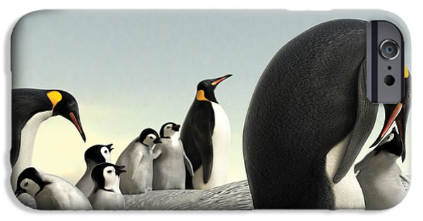 Feeding Young iPhone Cases - Feeding Time iPhone Case by Gary Hanna