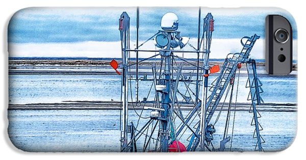 Chatham iPhone Cases - Feel The Cold iPhone Case by Constantine Gregory
