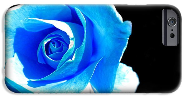 Painter Photographs iPhone Cases - Feeling Blue iPhone Case by Marianna Mills
