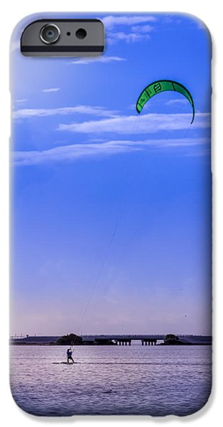 Wet Suit iPhone Cases - Feeling Free iPhone Case by Marvin Spates