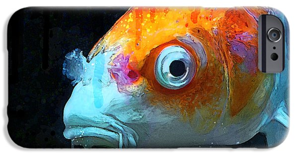 Butterfly Koi iPhone Cases - Feeling Koi iPhone Case by Gary Bodnar