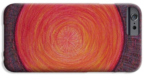 Spiritual Pastels iPhone Cases - Feeling Loved from the Depths of My Soul iPhone Case by Jamie Rogers