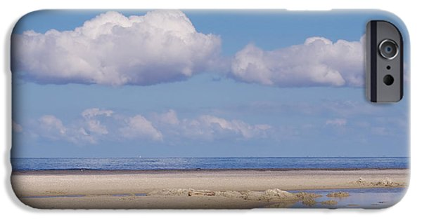 North Sea iPhone Cases - Feelings  iPhone Case by Angela Doelling AD DESIGN Photo and PhotoArt