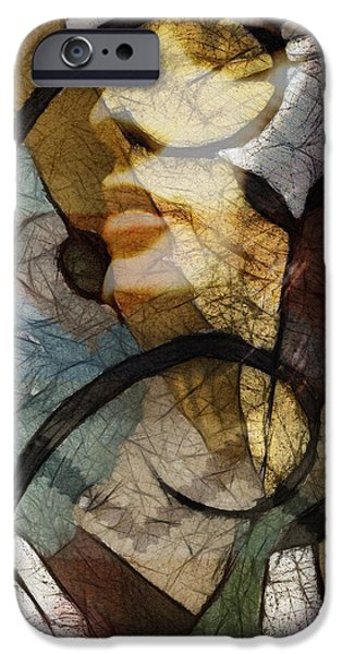Retro iPhone Cases - Feelings iPhone Case by Ann Croon