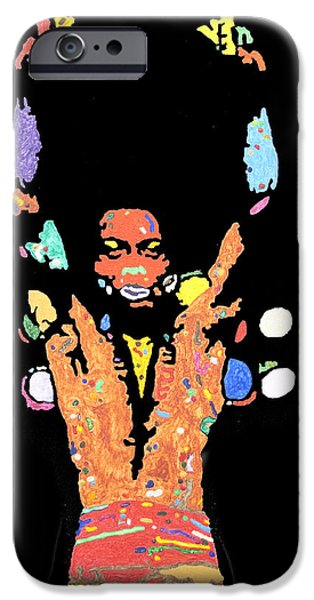 President iPhone Cases - Fela Kuti iPhone Case by Stormm Bradshaw