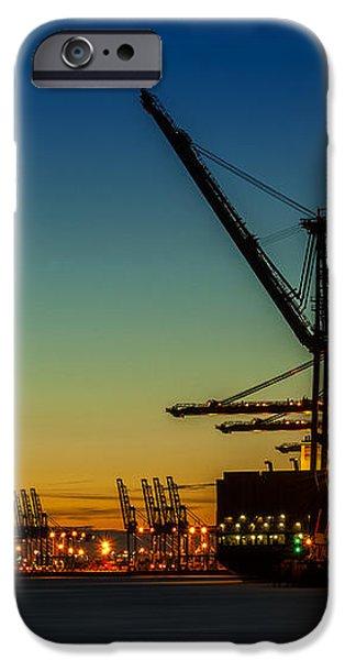 Felixstowe Docks iPhone Case by Svetlana Sewell