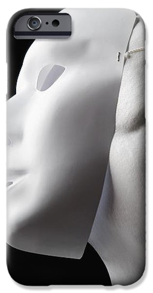 Female Mannequin And Mask iPhone Case by Kelly Redinger