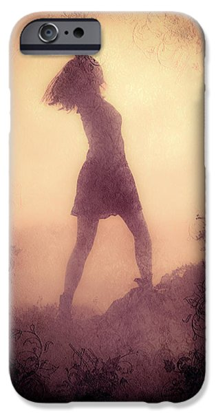Freedom iPhone Cases - Feminine Freedom iPhone Case by Loriental Photography
