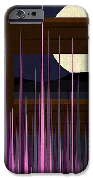 Fenced Field  iPhone Case by Val Arie