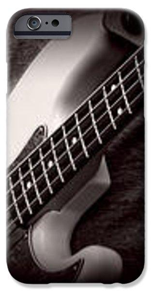 Fender Bass iPhone Case by Bob Orsillo