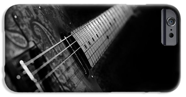 Fenders iPhone Cases - Fender In Paisley iPhone Case by Mark Rogan