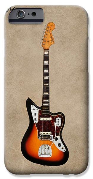 Fenders iPhone Cases - Fender Jaguar 67 iPhone Case by Mark Rogan