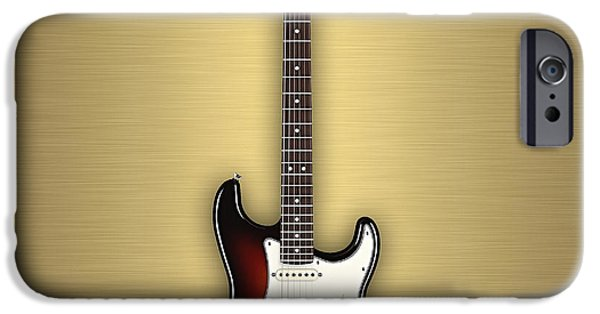 Fender Strat iPhone Cases - Fender Stratocaster Collection iPhone Case by Marvin Blaine
